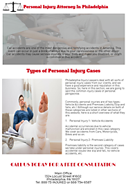 Personal Injury Attorney In Philadelphia | Personal Injury