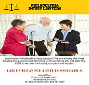 Philadelphia Injury Attorney | Philadelphia Injury Lawyer