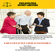 Car Accidents - Philadelphia Injury Lawyers