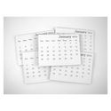 TayloredExpressions.com - 2014 Mini Tear-Off Calendar (set Of 10)