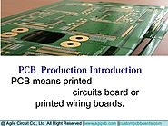 PCB For All Types of Industries: Agile Circuit