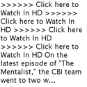 Super HD Watch The Mentalist Season 6 Episode 4 Online