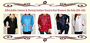 Shop Indian Cotton Tunics at Exclusive Affordable Price | Yours Elegantly