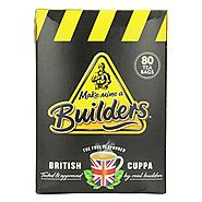 Builders Black Tea Bags