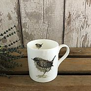 Wren Mug - Fine Bone China