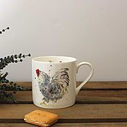 Chicken Mug - Fine Bone China