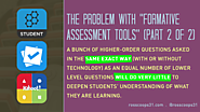 "C- (part 2 of 2) The Problem with ""Formative Assessment Tools"" - Cooper on Curriculum"