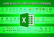 ruvaworks4u : I will do Microsoft Excel Related Task for $5 on www.fiverr.com