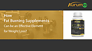 How Fat Burning Supplements Can be an Effective Element for Weight Loss?