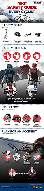 INFOGRAPHIC: Bike Safety for Every Cyclist | Bike Accident Attorneys