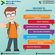 Advanced Excel Training in Delhi - Advanced Excel Corporate Training