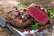 3. Steak (Top or Bottom Round) (23 g. per 3 oz. Serving)