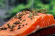 6. Sockeye Salmon (Wild) (23 g. per 3 oz. Serving)