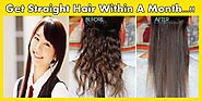 Get Permanent Straight Hair at Home with Natural Remedies
