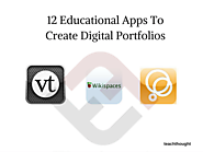8 Educational Apps To Create Digital Portfolios