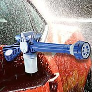 8-in-1 car wash spray gun: Cleaning Car Is FUN Now...