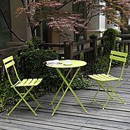 Best-Rated Folding Outdoor Patio Bistro Sets - Reviews :: Patio-furniture-accessories