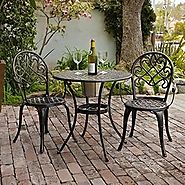 Best-Rated Outdoor Patio Bistro Sets With Built-in Ice Bucket - Reviews::Patio-furniture-accessories