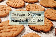 Recipe: Sugarless and Flourless Peanut Butter Cookies