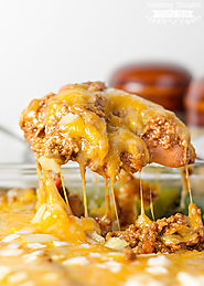 Low Carb Chili Dog Casserole Recipe