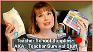 🍎Teacher School Supplies~AKA Teacher Survival Stuff