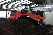 Commercial Compost Windrow Turner with Hydraulic System