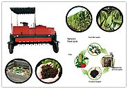 Self propelled Compost Turner