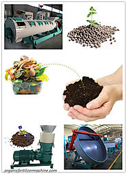 Organic Fertilizer Granulator for Recycling Organic Wastes