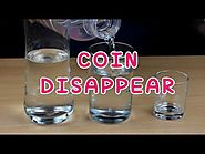 Disappear A Coin Using A Glass of Water | Fun Brains