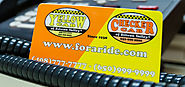 TAXI CAB GIFT CARDS - Yellow Checker Cab