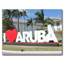I love Aruba - One happy Island Post Card from Zazzle.com