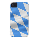 Flagge Bayern Weiß-Blau iPhone 4 Case-Mate Hülle von Zazzle.de