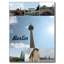 Berlin Architecture Photo Collage Postcard from Zazzle.com