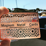 Metal Copper Card - magnummetalcards