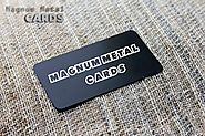 Some advantages of using a metal card - magnummetalcards
