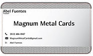 The Copper Metal Business Cards Advantage - magnummetalcards