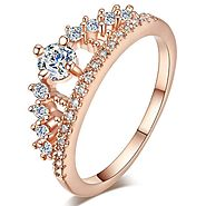 Rhinestone Goddess Ring – Feel the Elegance of a True Goddess