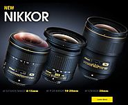 Nikon cameras, lenses, flashes and photographic accessories for sale