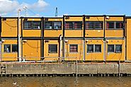 Contemporary Architecture Aims to Reduce Number of Cargo Containers for Sale