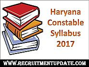 Haryana Constable Syllabus