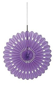 Lavender Fan Decoration