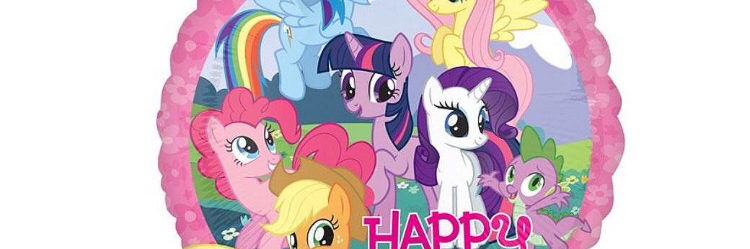 Headline for MY LITTLE PONY PARTY SUPPLIES
