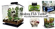 The Ultimate Guide to Modern Contemporary Fish Tanks With Big Style