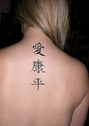 Tips to Aid you in Availing the Best Chinese Tattoo