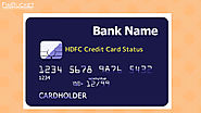 HDFC Credit Card Status online offline methods | Finbucket |
