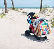 Best Heavy Duty Beach Cart for Soft Sand - Review and Sale