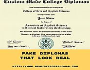 Fake Diplomas That Look Real