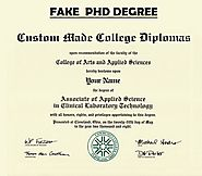 Fake PhD Degree