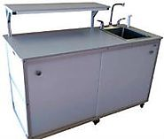 Portable Sinks Take Care of the Outdoor Sanitation Needs