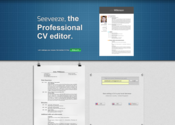 Seeveeze | Write your CV online | Powered by Latex